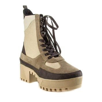 Cape Robbin | Commander Lace Up Combat Style Lug