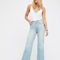 Free People We The Free Hi Rise Straight Flare