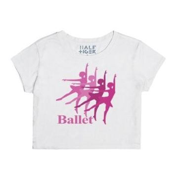 Ballerina Dancers Dancing Ballet-Female Snow T-Shirt