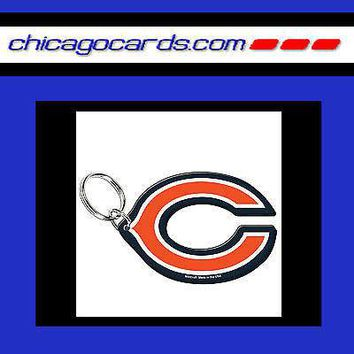 CHICAGO BEARS Acrylic Letter C LOGO Key Chain Backpack