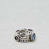 AEO Moon and Stars Ring 5-Pack , Silver