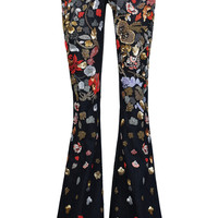 Ryley low-rise embellished flared jeans | Alice + Olivia | US | THE OUTNET