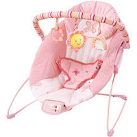 Bright Starts - Pretty in Pink Cradling Bouncer