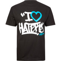 Dgk Haters Tag Mens T-Shirt Black  In Sizes