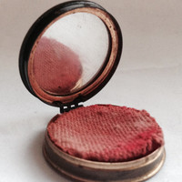 Vintage Max Factor Rouge tin, Blondeen