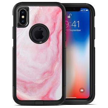 Marbleized Pink Paradise V4 - iPhone X OtterBox Case & Skin Kits