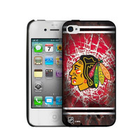 Iphone 44S Hard Cover Case - Chicago Blackhawks
