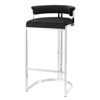 Black Bar Stool | Eichholtz Dante