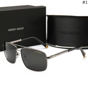 Giorgio Armani Trend Polarized Men's Fashion UV Protection Outdoor Driving Sunglasses #1