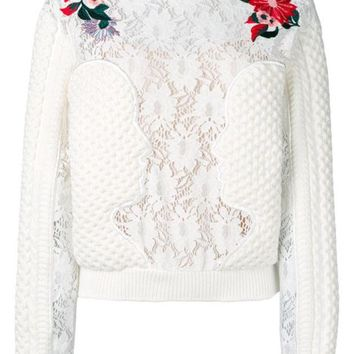CREYONJF Vivetta Embroidered Details Jumper - Farfetch