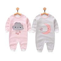 newborn Baby clothes Long sleeve cotton baby romper 2018 new Baby girls boys Clothing Infant Jumpsuits 0-12M baby clothes set