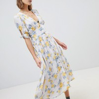 Free People Love Of My Life Midi Dress at asos.com