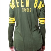 Green Bay Packers Womens Spirit Football Jersey | SportyThreads.com