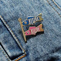 Valley Cruise Press Fish Flag Pin - Urban Outfitters