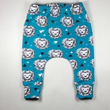 Organic baby clothing, baby leggings, baby boy harem pants, organic baby leggings, baby sweatpants, baby baggy pants, hipster baby clothes