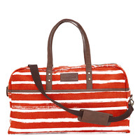 Duffel Bag - Tangerine Stripes