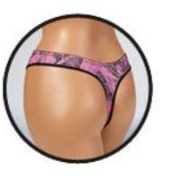 Weber Naked North Pink Camo Thong Sm