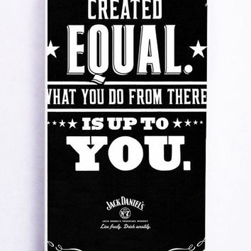 iPhone 5 Case - Rubber (TPU) Cover with Jack Daniels Rubber Case Design