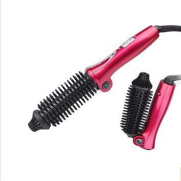 New Fashion Folding Automatic Curling Iron Ceramic Hair Curler Electric Hair Combs Portable Design Electric Hair Brush Curlers