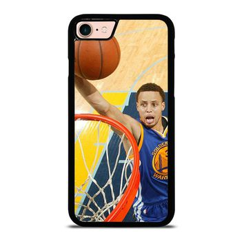 STEPHEN CURRY JUMP iPhone 8 Case Cover
