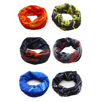 Outdoor Sports Magic Headband Warmer Cycling Bike Bicycle Riding Face Mask Head Scarf Scarves Bandana #EW