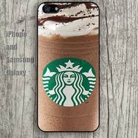 Coffee ice cream iphone 6 6 plus iPhone 5 5S 5C case Samsung S3,S4,S5 case Ipod Silicone plastic Phone cover Waterproof