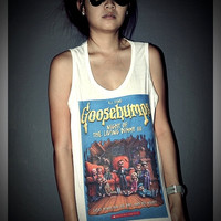 Goosebumps Night of the Living Dummy Shirt Unisex Men Women Tank Top S, M, L, XL