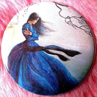 Jane Eyre Bronte Sisters Gothic Romance Retro Pocket by fussygussy
