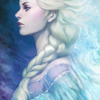 Frozen Art Print by Artgerm™