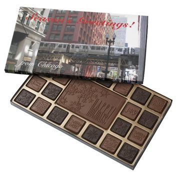 Chicago Photo Holiday Assorted Chocolates