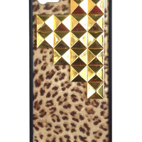 Leopard Gold Pyramid iPhone 5/5s Case - iPhone 5/5s