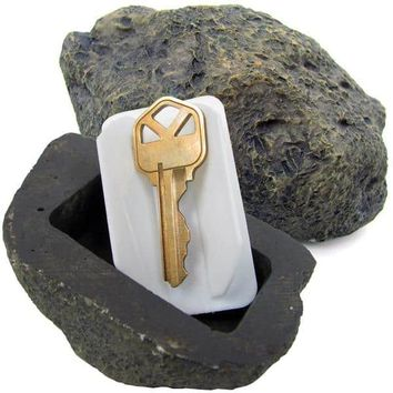As Seen on TV Hide-a-key Realistic Rock Key Holder | Overstock.com Shopping - The Best Deals on Garden Accents