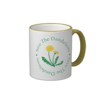 Save The Dandelions Coffee Mugs from Zazzle.com