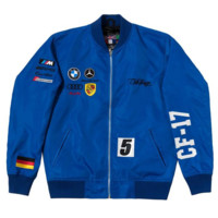 Club Foreign Germany Racing Jacket in Blue