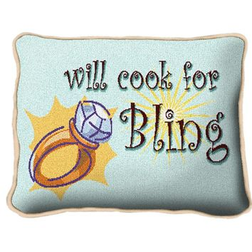 Pure Country Weavers Home Decor Bling Pillow