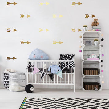 Arrows Wall Decals, Wall Stickers, Arrows Wall Stickers, Arrows Pattern, Vinyl Decal, Kids Wall Decal, Pattern Wall, Kids Room Decals