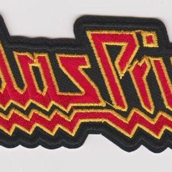 Judas Priest Iron-On Patch Red Letters Logo