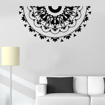 Vinyl Wall Decal Mandala Room Decoration Pattern Stickers (513ig)