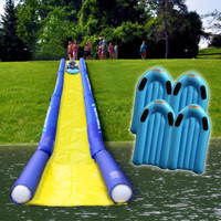 Rave Turbo Chute Hill and Lake Water Slide Package - Overton's