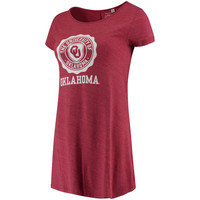 Women's Heathered Crimson Oklahoma Sooners My Favorite Swing Dress