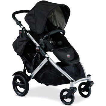 Britax B-Ready Versatile Modular Twin Baby Double Stroller w/ Second Seat Black