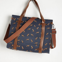 Urban Camp Director Tote in Foxes by ModCloth