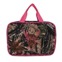 Mainstreet Camo Camoflauge Hot Pink Large Make-Up Toiletries Cosmetic Travel Bag Case:Amazon:Home & Kitchen