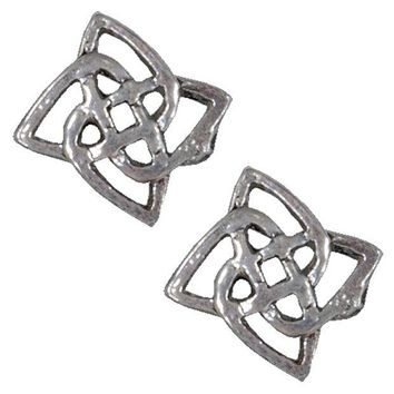 DCCKU3R Celtic Flower Knot - Stud Earrings
