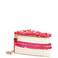 KITCH CAKE WRISTLET: Betsey Johnson