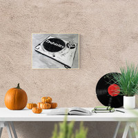 Turntable Technics MK2 fans, handmade illustration, perfect gift for music lovers