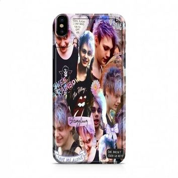 michael clifford collage art iPhone X case