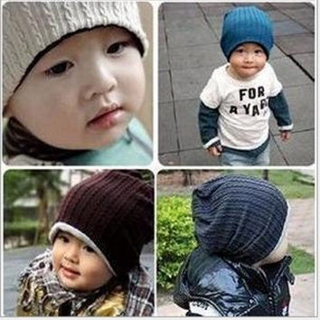 Toddler Baby Kids Hat Parent-child Cap Adult Infant Beanie Hat