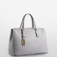 rowell pebble leather business tote | Calvin Klein
