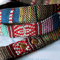 Mexican Woven Dog Leash 6ft -C-